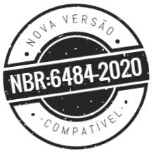 Compatível com a nova versão da NBR:8464-2020